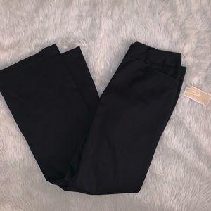 Black pants works slacks 8 Michael Kors NWT